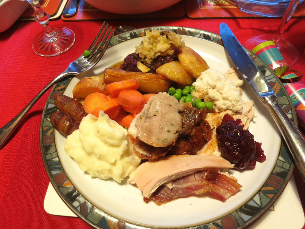 Traditional English Christmas Dinner.Toastmasters Fonske Leuven Christmas Dinner 2016