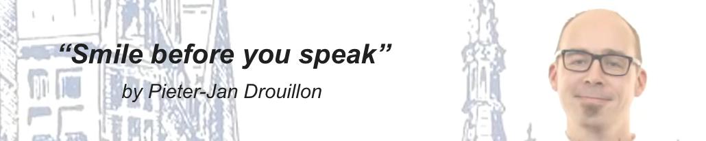 Public Speaking Tip: Smile before you speak