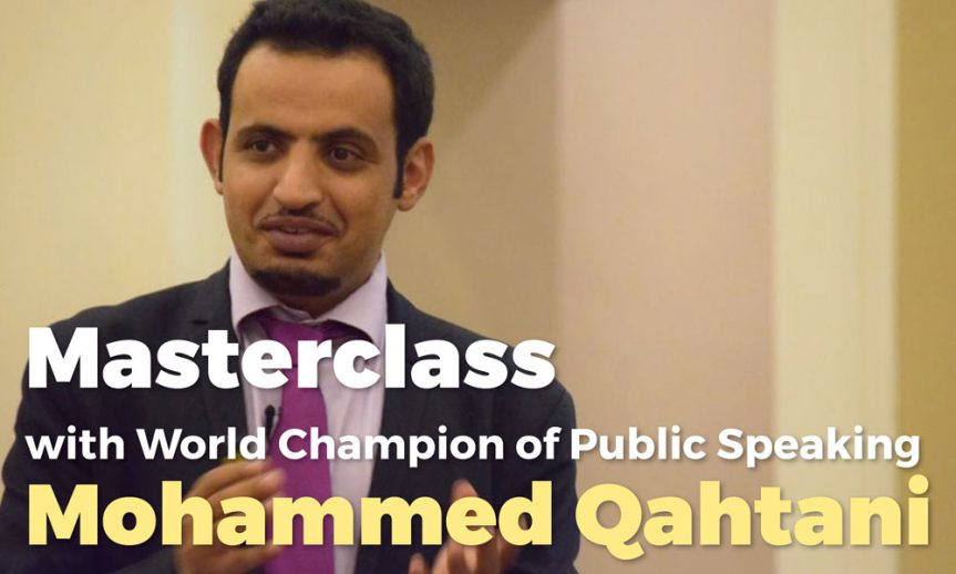 Mohammed Qahtani Gives Masterclass at Toastmasters Antwerpen