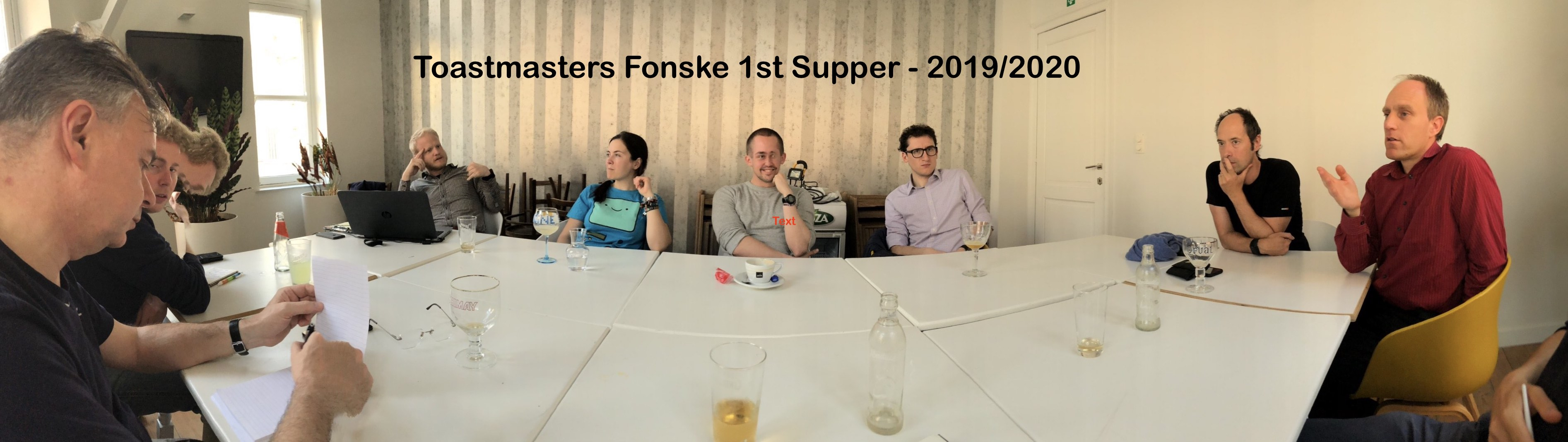 Our Fonske Toastmasters advanced members roundtable