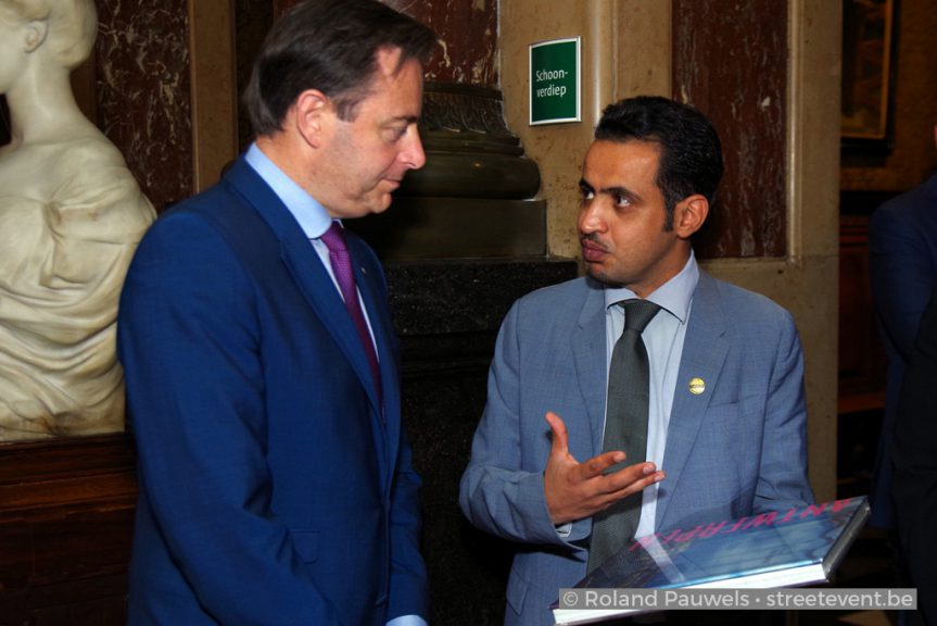 Mohammed Qahtani and Bart De Wever: Two Giants of Oratory Meet in Antwerp