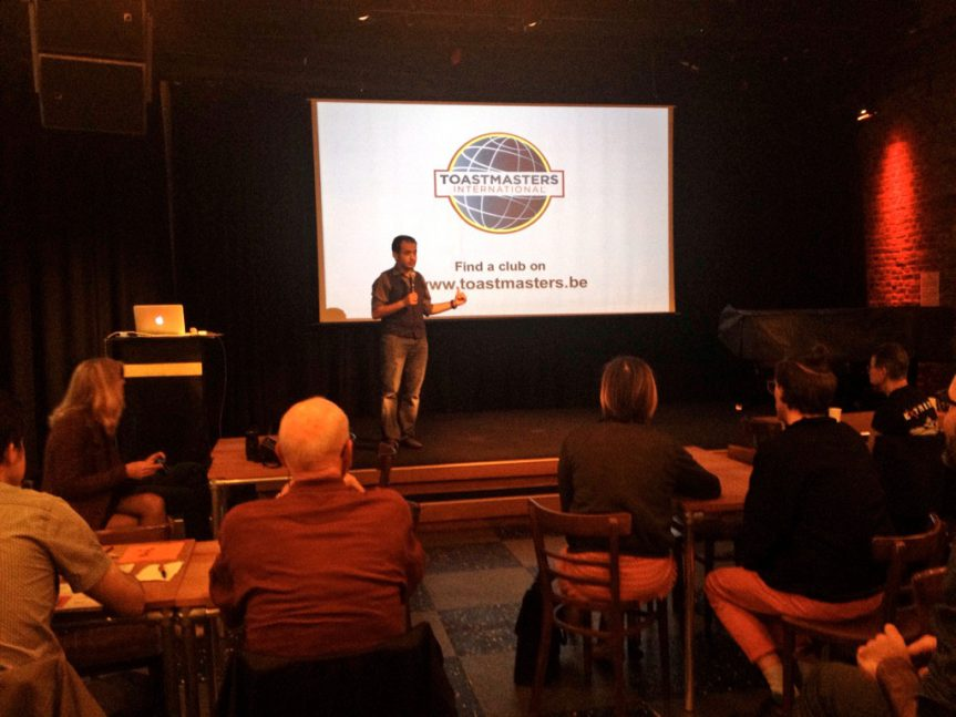 World Champion Pitches Toastmasters to Creative Professionals